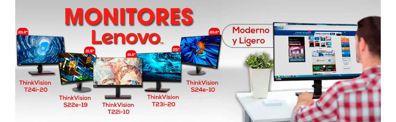 Monitores Lenovo