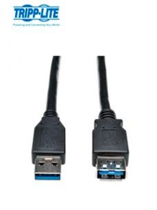 CABLE DE EXTENSIÓN USB 3.0 SUPERSPEED (M H) NEGRO, 1.83 M (6 PIES) EXTIENDE UN CA
