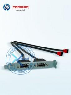 KIT DE CABLES PCI ESATA HP (GM110AA), PARA CONVERTIR 2 PUERTOS SATA INTERNOS EN EXTER