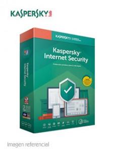 SOFTWARE KASPERSKY INTERNET SECURITY, 3PC, 1AÑO, PRESENTACIÓN EN CAJA.