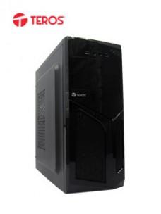 CASE TEROS TE1055, MID TOWER, ATX, 600W, USB 2.0 USB 3.0, AUDIO, NEGRO. 1 CONECTO