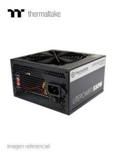 FUENTE DE ALIMENTACIÓN THERMALTAKE LITEPOWER, 550W, ATX, 110V ~ 220VAC. CONECTOR