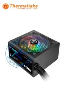 FUENTE DE ALIMENTACIÓN THERMALTAKE SMART RGB, 600W, ATX, 100V ~ 240VAC. EFICIENCI