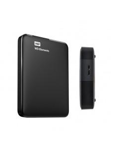 DISCO DURO EXTERNO WESTERN DIGITAL ELEMENTS PORTABLE, 2 TB, USB 3.0, NEGRO.