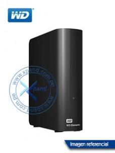 DISCO DURO EXTERNO WESTERN DIGITAL ELEMENTS DESKTOP, 4 TB, USB 3.0, NEGRO.