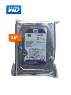 DISCO DURO WESTERN DIGITAL PURPLE SURVEILLANCE, 1TB, SATA 6.0 GBPS, 5400RPM, 64MB, 3.