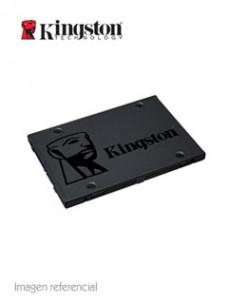 UNIDAD DE ESTADO SOLIDO KINGSTON A400, 240GB, SATA 6GB S, 2.5, 7MM, TLC. VELOCID