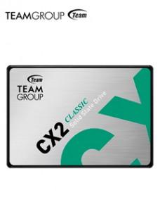 UNIDAD DE ESTADO SOLIDO TEAMGROUP CX2, 256GB, SATA 6.0 GB S, 2.5, ECC, DC +5V VE