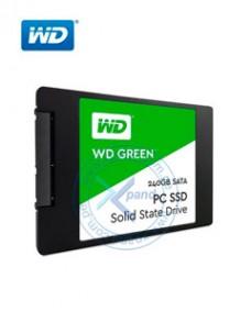 UNIDAD DE ESTADO SOLIDO WESTERN DIGITAL GREEN, 240GB, SATA 6GB S, 2.5, 7MM.