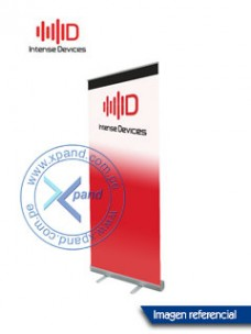ROLL UP STAND INTENSE DEVICES PARA BANNER DE PUBLICIDAD.