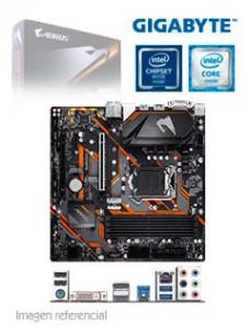 MOTHERBOARD GIGABYTE B365 M AORUS ELITE, REV 1.0,LGA1151, B365, DDR4, SATA 6.0, USB 3