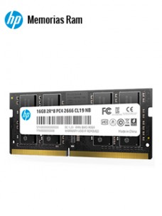 MEMORIA HP S1 SERIES, 16GB, DDR4, SO-DIMM, 2666 MHZ, CL-19, 1.2V