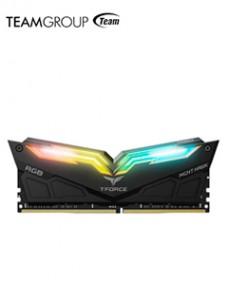 MEMORIA T-FORCE NIGHT HAWK RGB, 16GB KIT (8GB X2), DDR4, 3600 MHZ, CL-18, 1.35V