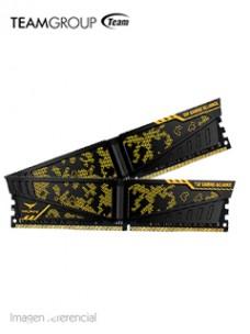 MEMORIA TG T-FORCE VULCAN TUF, 16GB (8GB X 2), DDR4-3000 MHZ, CL16-18-18-38, 1.35V[