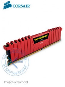 MEMORIA CORSAIR VENGEANCE LPX, 8GB, DDR4, 2666 MHZ, PC4-21300, CL-16, 1.2V SOPORT