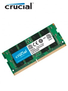 MEMORIA SO-DIMM CRUCIAL, 8GB, DDR4 2666 MHZ, PC4-21300, CL19, 1.2V