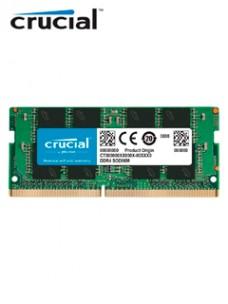 MEMORIA CRUCIAL CB8GS2666, SODIMM 8GB DDR4-2666 MHZ, PC4-21300, CL-19, 1.2V