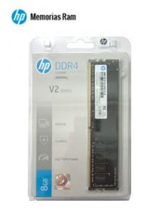 MEMORIA HP V2 SERIES, 8GB, DDR4, 2666 MHZ, PC4-21300, CL-19, 1.35V