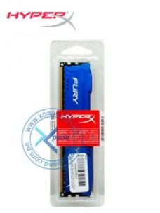 MEMORIA KINGSTON HYPERX FURY BLUE, 8GB, DDR3, 1866 MHZ, CL10.