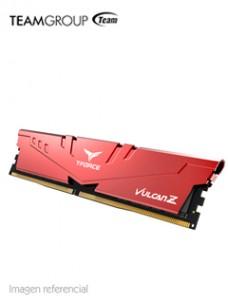 MEMORIA TG T-FORCE VULCAN Z, 8GB, DDR4-2666 MHZ, CL18-18-18-43