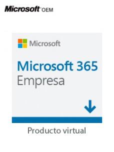 LICENCIAMIENTO VIRTUAL (ESD) MICROSOFT 365 APPS FOR BUSINESS LICENCIA DE UN AÑO P