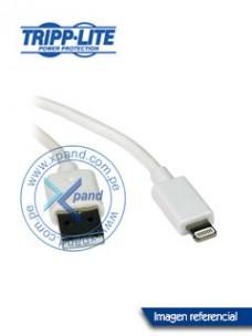 CABLE USB DE SINCRONIZACIÓN   CARGA TRIPP-LITE M100-003-WH, CONECTOR LIGHTNING, 91 CM
