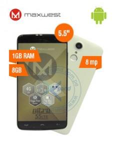 SMARTPHONE MAXWEST NITRO 55LTE, 5.5 720X1280, ANDROID 6.0, LTE, DUAL SIM, DESBLOQUEA
