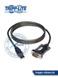 CABLE ADAPTADOR USB A SERIAL TRIPP-LITE U209-000-R, USB-A A DB-9, 1.52 MTS. CONEC