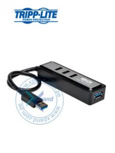 HUB USB PORTÁTIL TRIPP-LITE U360-004-MINI, 4 PUERTOS USB 3.0 SUPERSPEED, 5 GBPS.