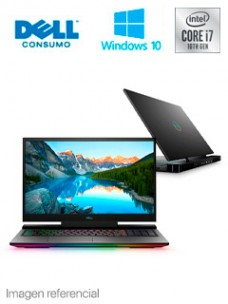 NOTEBOOK DELL GAMING G7 17 7700, 17.3 FHD, CORE I7-10750H, 16GB DDR4, 512GB M.2 SSD[