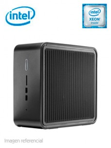 MINI BAREBONE INTEL NUC9VXQNB, INTEL XEON E-2286 2.40GHZ, DDR4, LAN, WIFI, BT, AUDIO[