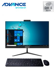 ALL-IN-ONE ADVANCE AIO AO4540, 23.8 IPS, INTEL I5-10400T 2.00GHZ, 8GB DDR4, 1TB, 256
