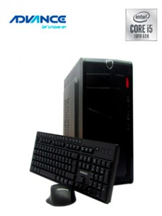 COMPUTADORA ADVANCE VISSION VO1086, INTEL CORE I5-10400 2.00GHZ, 8GB DDR4, 1TB SATA[