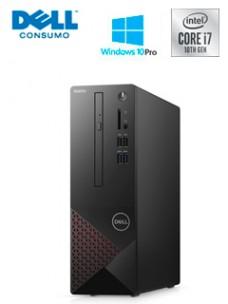COMPUTADORA DELL VOSTRO 3681, INTEL CORE I7-107002.90   4.80GHZ, 8GB DDR4, 1TB SATA.[