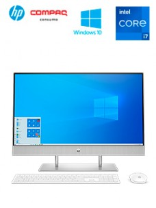 ALL-IN-ONE HP 27-DP1002LA, 27 FHD IPS TOUCH, CORE I7-1165G7 HASTA 4.70GHZ, 16GB DDR4