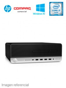 COMPUTADORA HP PRODESK 600 G5 SFF, INTEL CORE I7-9700 3.00   4.70 GHZ, 8GB DDR4, 1TB