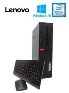 COMPUTADORA LENOVO M720S, INTEL CORE I7-8700 3.20GHZ, 8GB DDR4, 1TB SATA. DVD SUP
