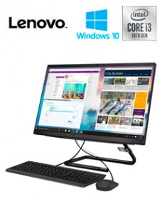 ALL-IN-ONE LENOVO IDEACENTRE A3I, 23.8 FHD IPS, INTEL CORE I3-10100T, 3.00GHZ, 4GB D