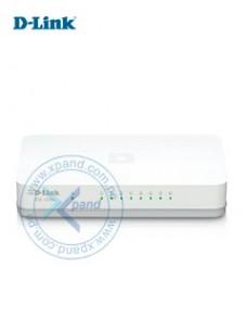SWITCH D-LINK DGS-1008A, 8 RJ-45 10 100 1000 MBPS, MDI MDIX, CSMA CD. PRESENTACIÓ