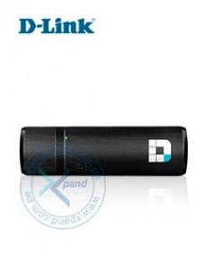 ADAPTADOR USB INALÁMBRICO D-LINK DWA-182, 2.4GHZ 5GHZ, 802.11AC, USB 2.0. ANTENA