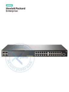 SWITCH HPE ARUBA 2930F, 24 RJ-45 GBE, 4 SFP+ 1 10GBE, POE. CAPACIDAD SWITCHING 12