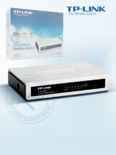 SWITCH TP-LINK TL-SF1005D, 5 PUERTOS 10 100 AUTO MDI MDIX.
