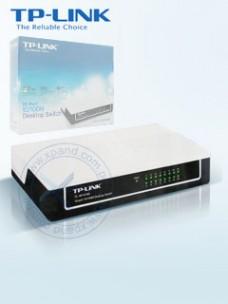 SWITCH TP-LINK TL-SF1016D, 16 PUERTOS 10 100MBPS,AUTOVOLTAJE, PRESENTACIÓN EN CAJA
