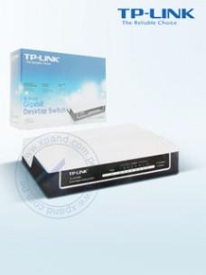 SWITCH TP-LINK TL-SG1008D, 8 PUERTOS RJ45, 10 100 1000MBPS, CSMA CD.