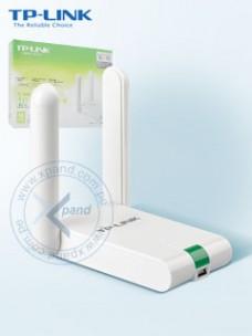 ADAPTADOR USB TP-LINK TL-WN822N, 802.11 B G N HASTA 300 MBPS, FRECUENCIA 2.4 ~ 2.4835