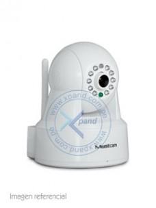 CÁMARA IP INALÁMBRICA MUSTCAM H806P, INDOOR, CMOS, DIA NOCHE, 720P, H.264. LENTE