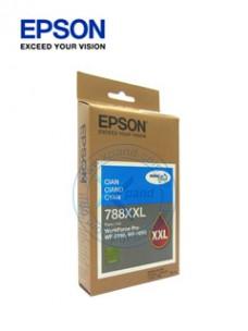 CARTUCHO DE TINTA EPSON T788XXL, DURABRITE PRO, CYAN, PARA WORKFORCE PRO WF-5690 5190