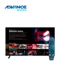 TELEVISOR SMART ADVANCE MOD. WADVU55K50, 43 UHD,3840X2160, WIRELESS, LAN. RELACI