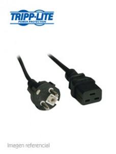 CABLE DE PODER TRIPP-LITE P050-008, IEC-320-C19 ASCHUKO CEE 7 7, 2.44 MTS, 250VAC   1