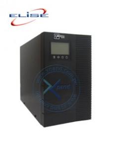 UPS ELISE UDC-3K-T-G2, ON-LINE, 3KVA, 2.7KW, 100V~ 300VAC, DISPLAY LCD. INTERFAZ